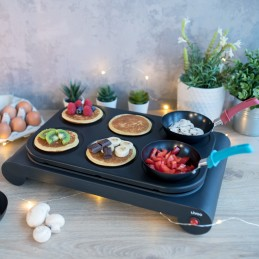 Set mini woks, crêpière et gril, conciergeries locatives de france