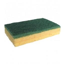 Eponge abrasif vert 110x70 mm